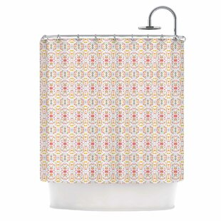 Carolyn Greifeld Bright Modern Shabby Single Shower Curtain