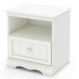 Savannah 1 Drawer Nightstand BySouth Shore