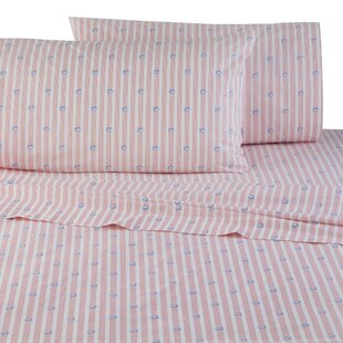 Skipjack Band 200 Thread Count 100% Cotton Sheet Set by Southern Tide
