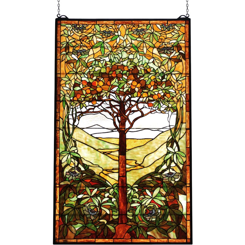 Diane Tree Of Life Stained Gl Window