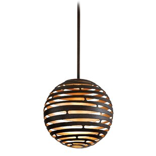 Kylah LED Globe Pendant by Bloomsbury Market