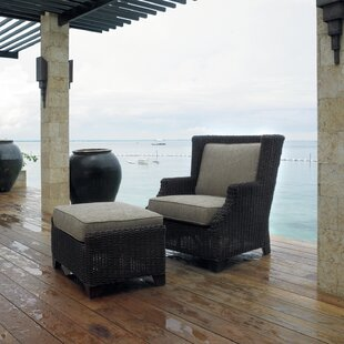 Outdoor Terrace Lounge Chair with Cushions