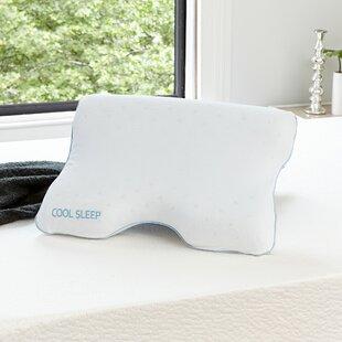 Alwyn Home Contour Cool Gel Memory Foam Standard Pillow