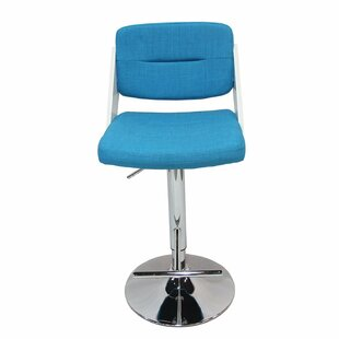 Adjustable Height Swivel Bar Stool Adeco Trading