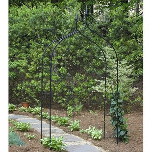 World Source Partners Gothic Steel Arbor