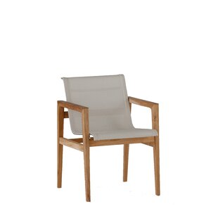 Coast Teak Patio Arm Dining Chair