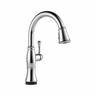 Delta Cassidy Pull Down Touch Single Handle Kitchen Faucet with and MagnaTite® Docking, Touch2O® Technology, and Diamond Seal Technology