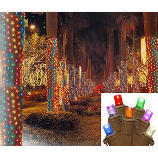 net tree trunk wrap christmas light