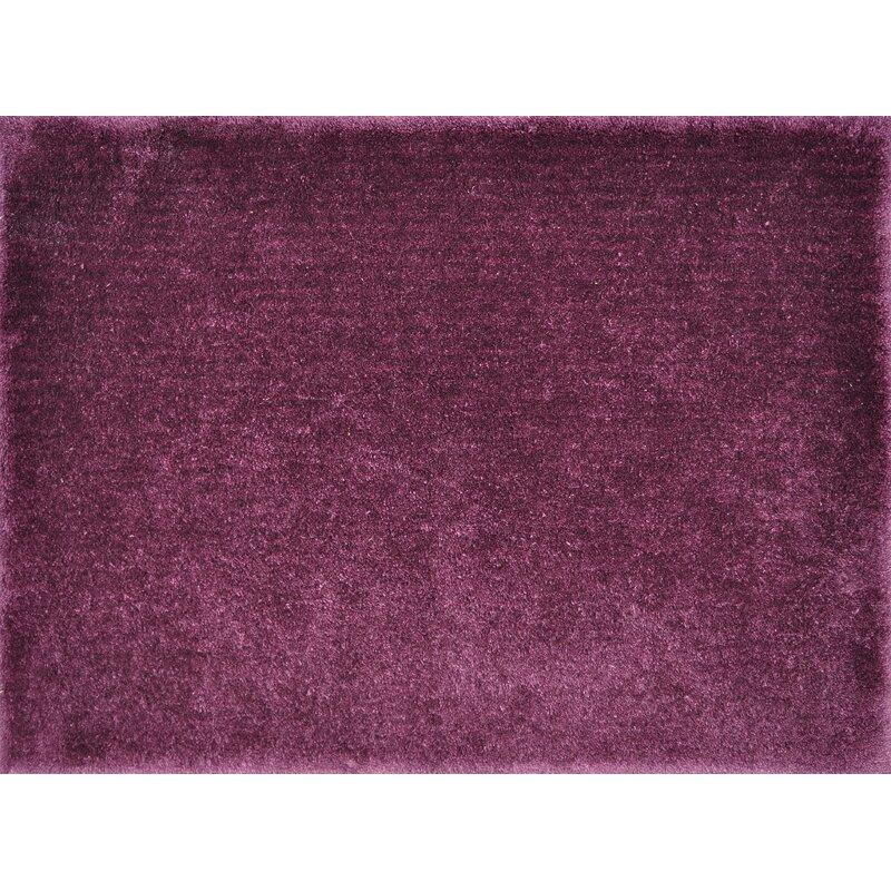Alcott Hill Keil Hand-Tufted Purple Area Rug, Size: Rectangle 710 x 11
