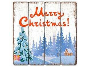 Merry Christmas Wooden Sign | Wayfair