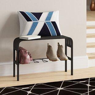 Superb Elisa Metal Entryway Bench Machost Co Dining Chair Design Ideas Machostcouk