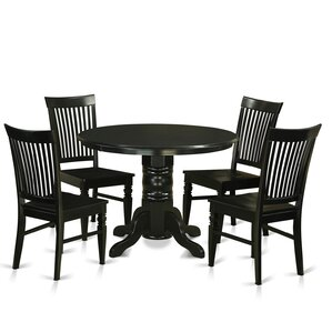 Shelton 5 Piece Dining Set by East West Furniture