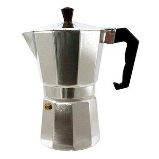 Kitchen Genie 6 Cup Stovetop Espresso Maker