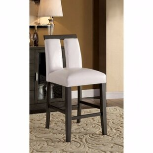Ballintoy Contemporary Counter Upholstered Dining Chair (Set of 2)