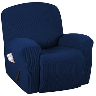 Superb Spandex Box Cushion Recliner Slipcover Creativecarmelina Interior Chair Design Creativecarmelinacom