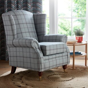 Kelley Wingback Chair By Alpen Home