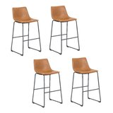 Delucia 26'' Counter Stool (Set of 4) by Foundry Select