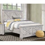 Crossing Barn Queen Standard Solid Wood Configurable Bedroom Set by Sunset Trading