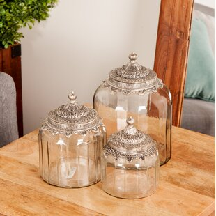 Traditional 3 Piece Storage Jar Set
