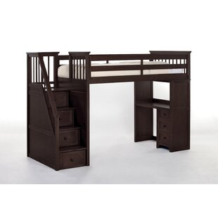 Radley Stair Loft Bed with Desk End by