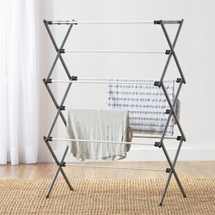 Wayfair Basics Deluxe Folding Drying Rack