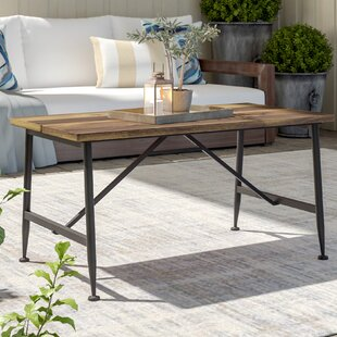 Cabarley Folding Solid Wood Coffee Table by Gracie Oaks