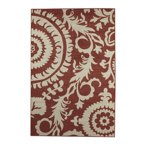 Hattie Brick U0026 Parchment Indoor/Outdoor Rug