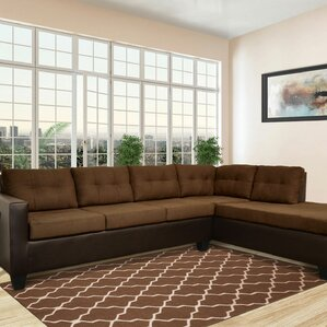 Brewster Sectional : microfiber couch sectional - Sectionals, Sofas & Couches
