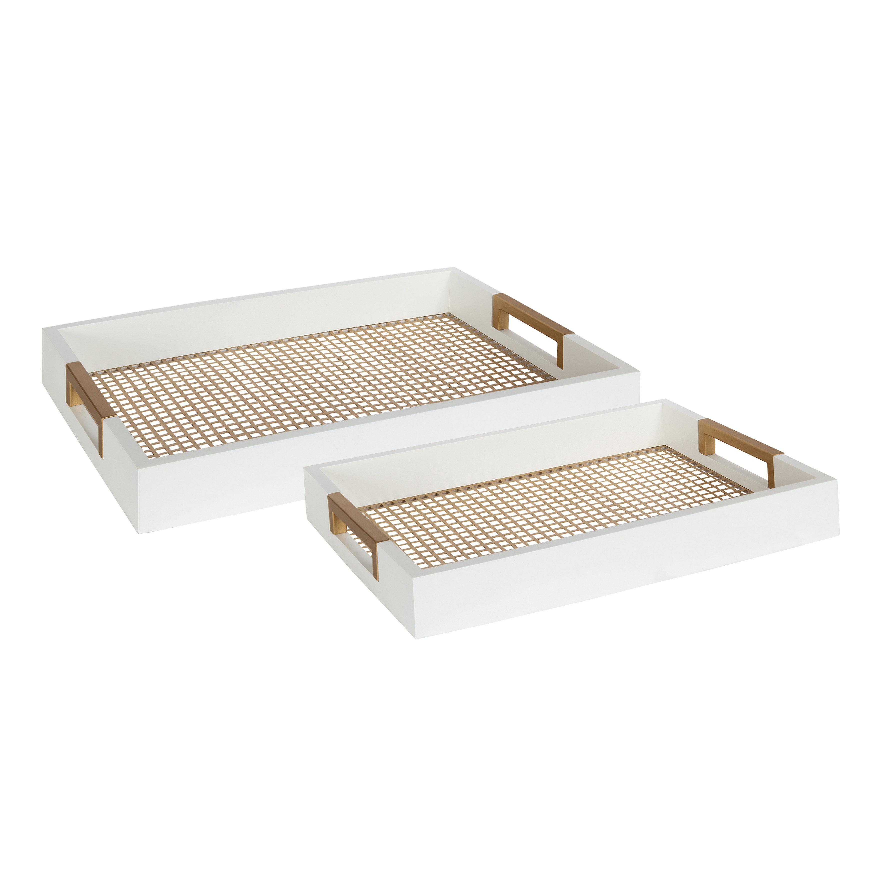 Modern Serving Decorative Trays Allmodern