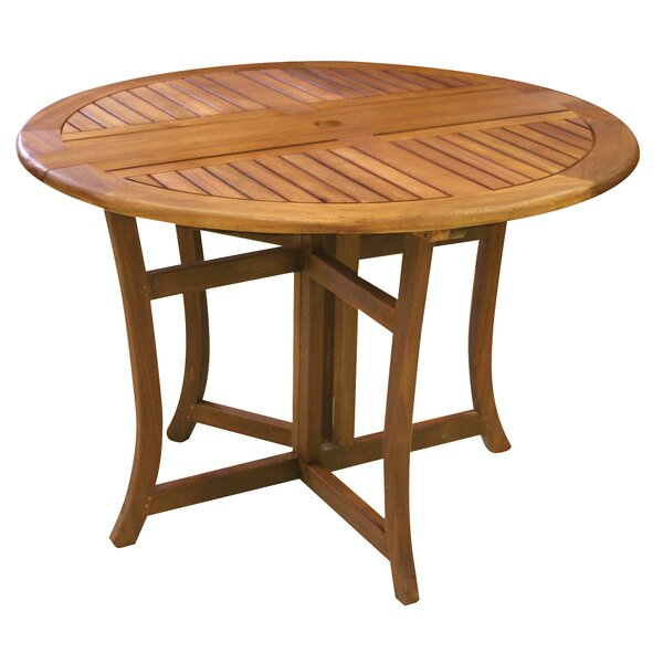 Patio Dining Tables Youll Love Wayfair - 52 inch round outdoor dining table