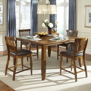 Delphina 5 Piece Counter Height Dining Set by American Heritage