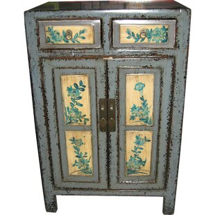 Monroe Street 2 Door Cabinet by August Grove