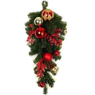 christmas ornaments ball garland teradrop