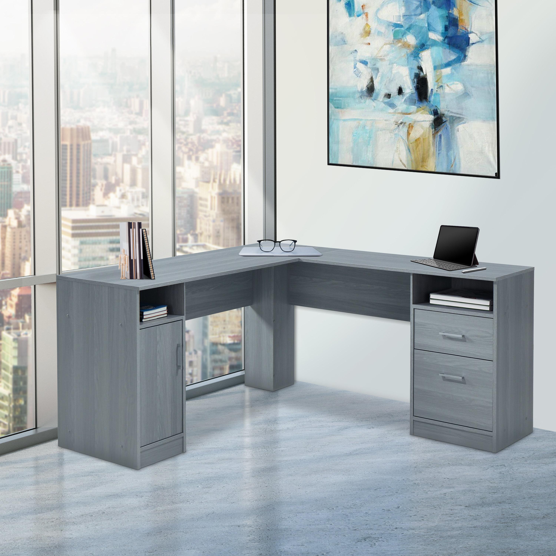 Ebern Designs Aspasia L Shape Computer Desk Reviews