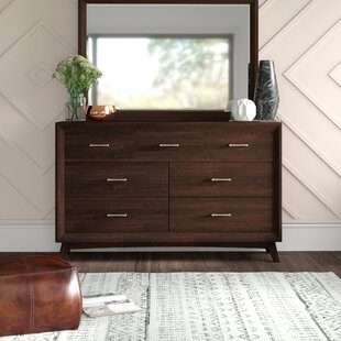 Zeta 7 Drawer Dresser by Mercury Row