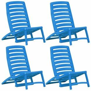 Review Otelia Reclining Beach Chair (Set Of 4)