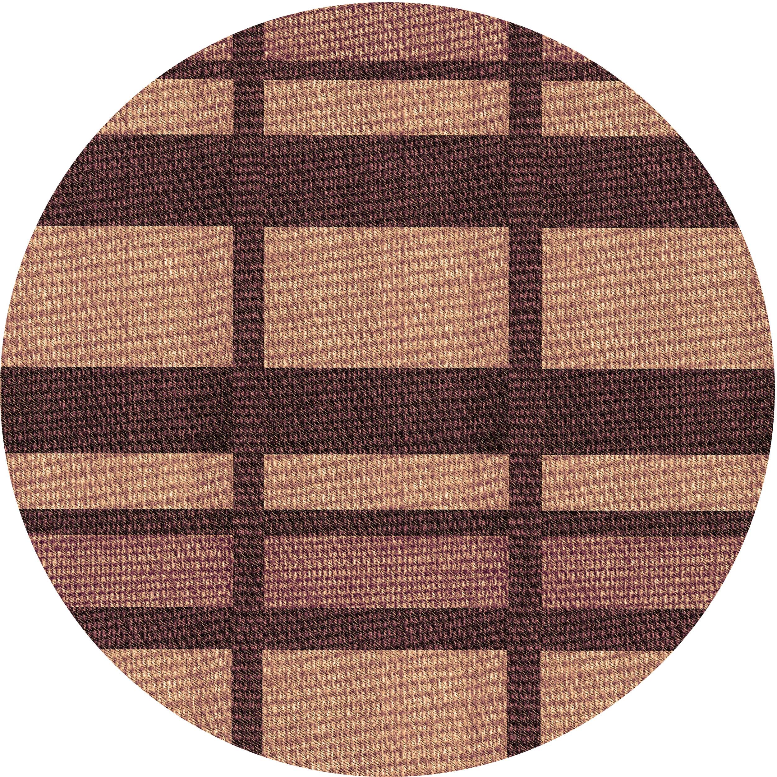 East Urban Home Karissa Geometric Wool Brown Area Rug Wayfair