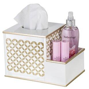 Affordable Addisyn Diamond Lattice Tissue Box Cover ByEverly Quinn