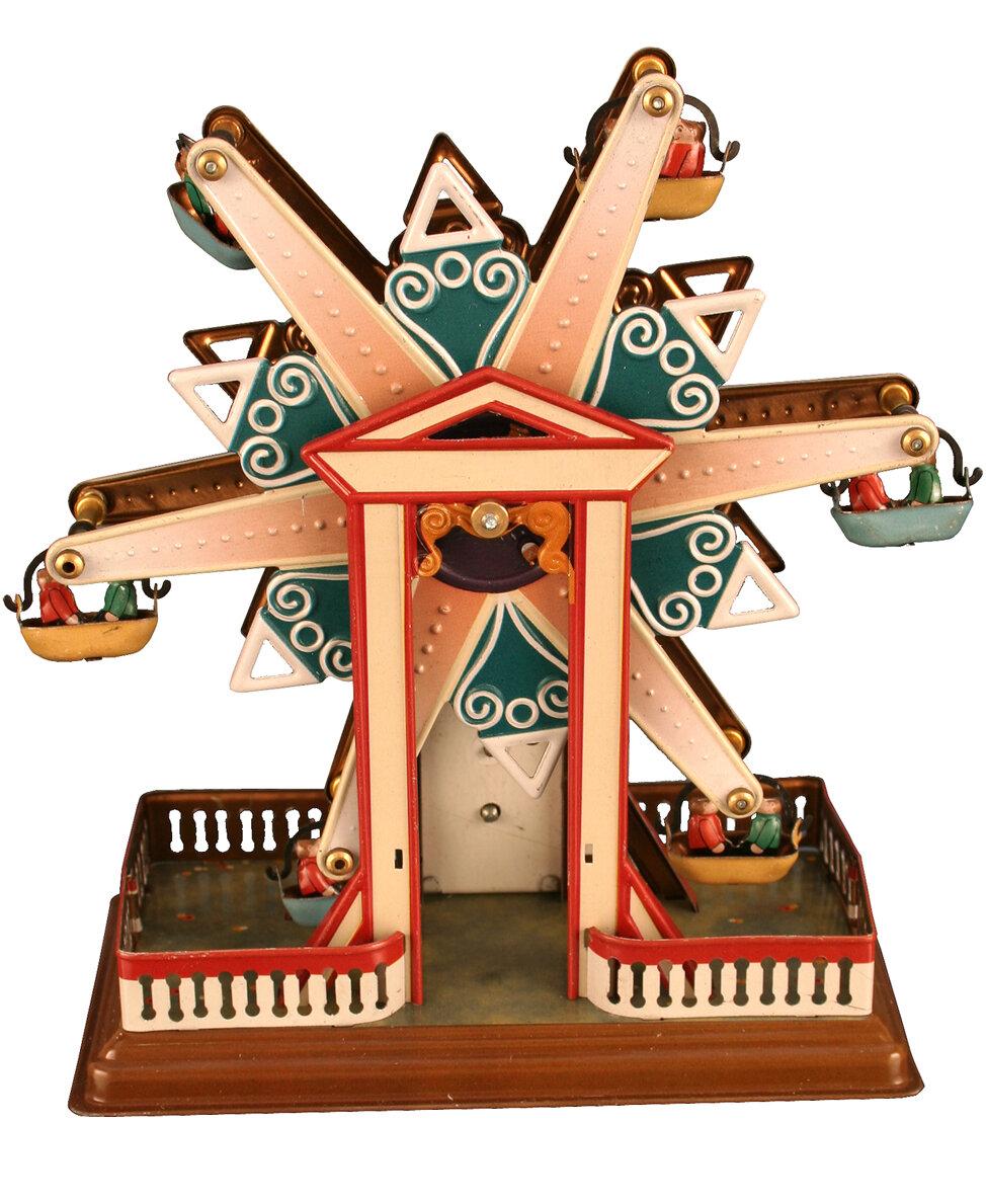 Ebern Designs Lulette Decorative Tin Toy Ferris Wheel Reviews Wayfair