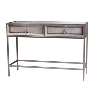 Alandra Wooden 2 Drawer Console Table