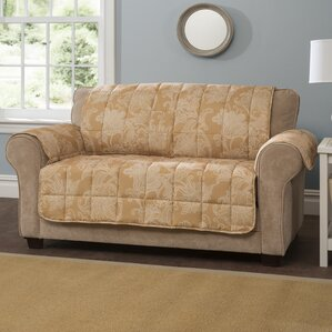 Box Cushion Sofa Slipcover by Innovati..