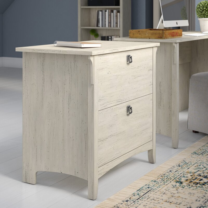lark manor ottman 2-drawer lateral file cabinet & reviews | wayfair 2 drawer lateral file cabinet