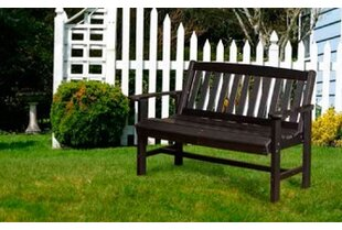 Sawyerville Contemporary Poly Lumber Garden Bench by Laurel Foundry Modern Farmhouse