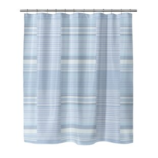 Melstone Stripe Single Shower Curtain