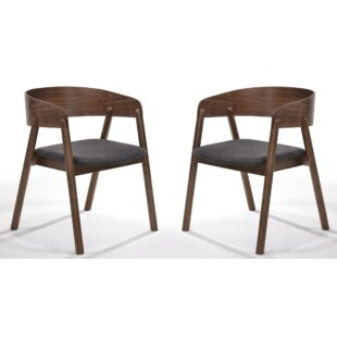 Jamel Upholstered Dining Chair (Set of 2) George Oliver