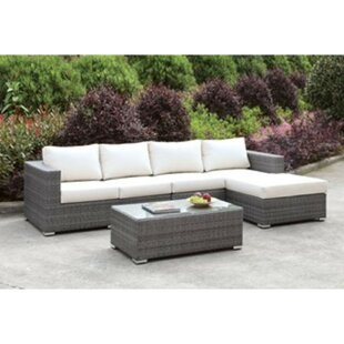 Shearin 3 Piece Sectional Seating Group with Cushions by Ivy Bronx