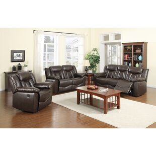 James Reclining 3 Piece Living Room Set b..