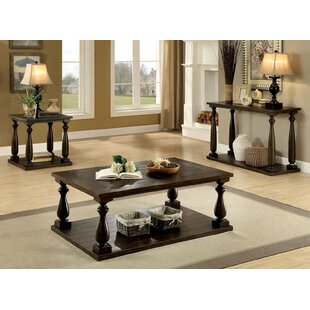 Wattisham 3 Piece Coffee Table Set