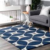 Geometric Navy Area Rugs You Ll Love In 2021 Wayfair