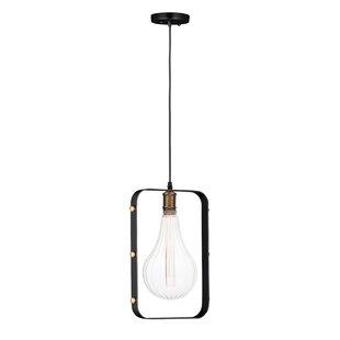 Williston Forge Edgardo 1-Light Bulb Pend..